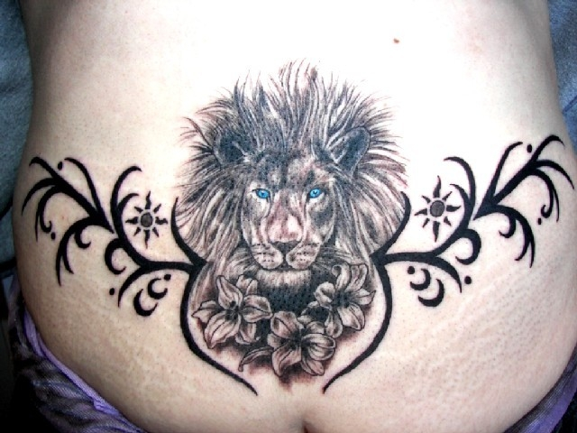 Lion Tribal - By: Larry Ross